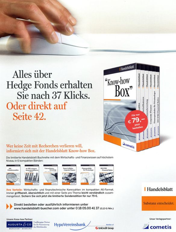 Handelsblatt Know How Box