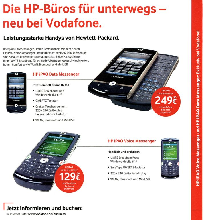 Vodafone Mobile Guide Innenseite